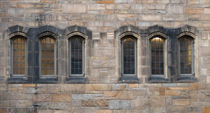 Windows in der Neugotik Stockfotos