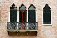 Windows der Venedig-Serie Lizenzfreie Stockfotografie