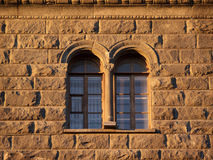 Windows des alten Hauses Lizenzfreie Stockfotos