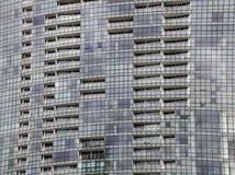 Windows des immeubles de bureaux à l'arrière-plan Photographie stock