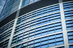 Windows des immeubles de bureaux Images libres de droits