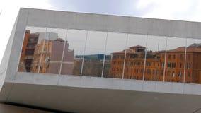 Windows des Nationalmuseums der Kunst des XXI stock video