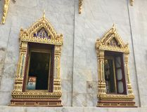 Windows des Tempels von Bell, Lizenzfreies Stockbild