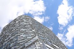 Windows des Wolkenkratzers Lizenzfreie Stockbilder