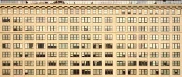 Windows di costruzione Fotografie Stock Libere da Diritti