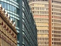 Windows di costruzione moderna Immagine Stock Libera da Diritti