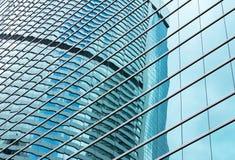 Windows di costruzione moderno Fotografie Stock