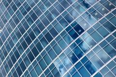 Windows di costruzione moderno Immagine Stock Libera da Diritti