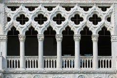 Windows di Venezia Immagine Stock