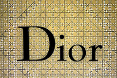 The windows of dior Stock Image