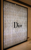 The windows of dior Royalty Free Stock Images