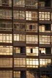 Windows do bloco liso Foto de Stock Royalty Free