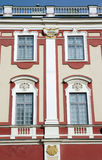 Windows do castelo barroco Fotos de Stock Royalty Free