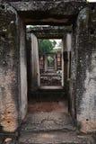 Windows do castelo de Phimai Fotos de Stock Royalty Free