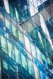 Windows do prédio de escritórios moderno Imagem de Stock