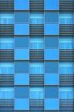 Windows do prédio de escritórios moderno Fotografia de Stock