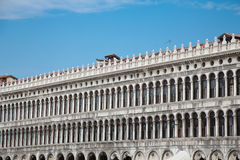 Windows in Doges Palace Royalty Free Stock Photos