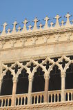 Windows At The Doges Palace In Venice Royalty Free Stock Photography