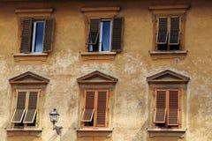The Windows. And door design stock photo