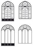 Windows and door-windows Royalty Free Stock Photo