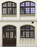 Windows and doors Stock Photo