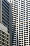 Windows dos prédios de escritórios Fotografia de Stock Royalty Free