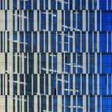 Windows drapacz chmur, architektury zamknięty up konkretny szkła miejski krajobrazu Miasto dzielnica biznesu nowożytny zdjęcie stock