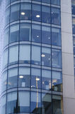 Windows drapacza chmur Biznesowy biuro, Korporacyjny budynek w mężczyzna Zdjęcie Royalty Free