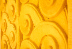 Windows drzwiowa ceramiczna dekoracja handmade zdjęcie stock