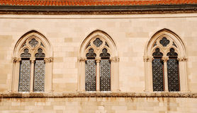 Windows in Dubrovnik, Croatia Stock Photo