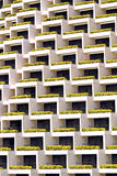 Windows e balcão Imagem de Stock Royalty Free