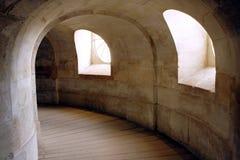 Windows e corridoio Fotografie Stock Libere da Diritti