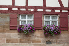 Windows e porte Fotografie Stock Libere da Diritti