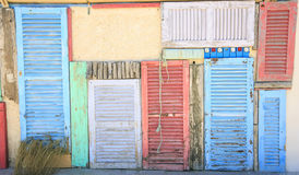 Windows e porte Fotografia Stock Libera da Diritti