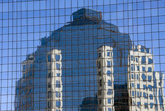 Windows e riflessioni Fotografia Stock