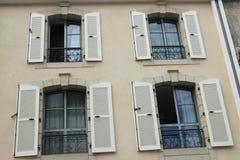 Windows ed otturatori Immagini Stock Libere da Diritti