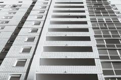 Windows eines modernen Gebäudes Lizenzfreie Stockfotografie