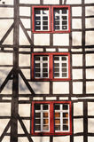 Windows em Monschau Fotos de Stock Royalty Free