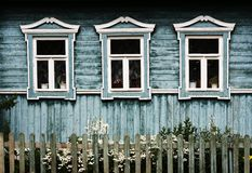 Windows em Suzdal (Rússia) imagem de stock royalty free