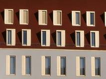 Windows em Swissotel em Dresden Fotos de Stock Royalty Free