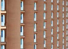 Windows em uma construção residencial Fotografia de Stock