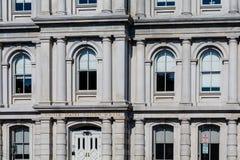 Windows en aduanas Imagen de archivo libre de regalías