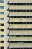 Windows en el edificio moderno Imagen de archivo libre de regalías