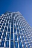 Windows en verre bleu Photographie stock libre de droits