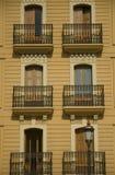 Windows et balcon Image stock