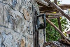 Windows et ruines photos stock