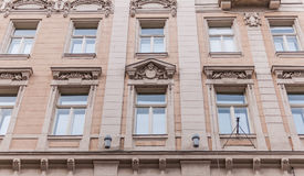 Windows of Europe building Stock Photography