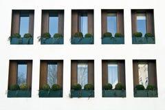 Windows on facade Royalty Free Stock Photography