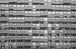 Windows. Facade of a building with lots of windows Stock Photography