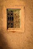 Windows. Facade detail . Ouarzazate. Morocco. Stock Photo